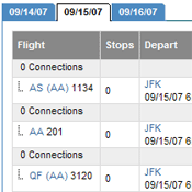 Flight Availability